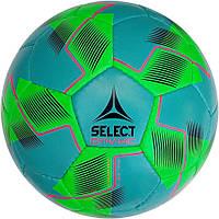 Мяч футбольный Select Dynamic, бирюзово-салатовый, р.5, не ламинированный