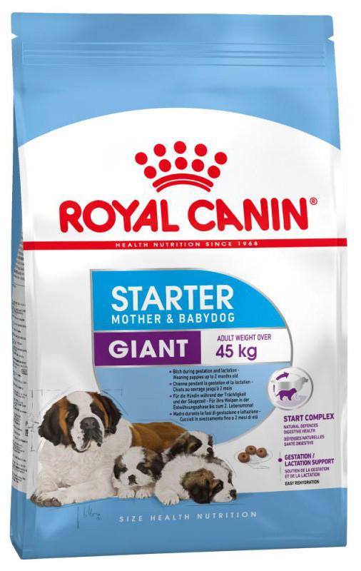 Корм для щенков гигантских пород Royal Canin Giant Starter