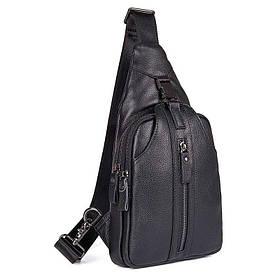 Кожаный рюкзак-сумка 4007A