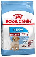 Корм для щенков и юниоров средних пород Royal Canin Medium Puppy