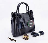 69f897a62373 Потребительские товары: Черная кожаная женская сумка в Украине ...
