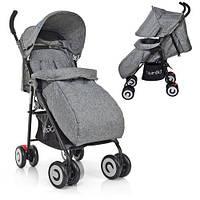 Прогулочная коляска Bambi M 3458-2-11 Серый, фото 1