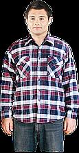 Рубашка KFLUX DC фланелевая утепленная рабочая REIS