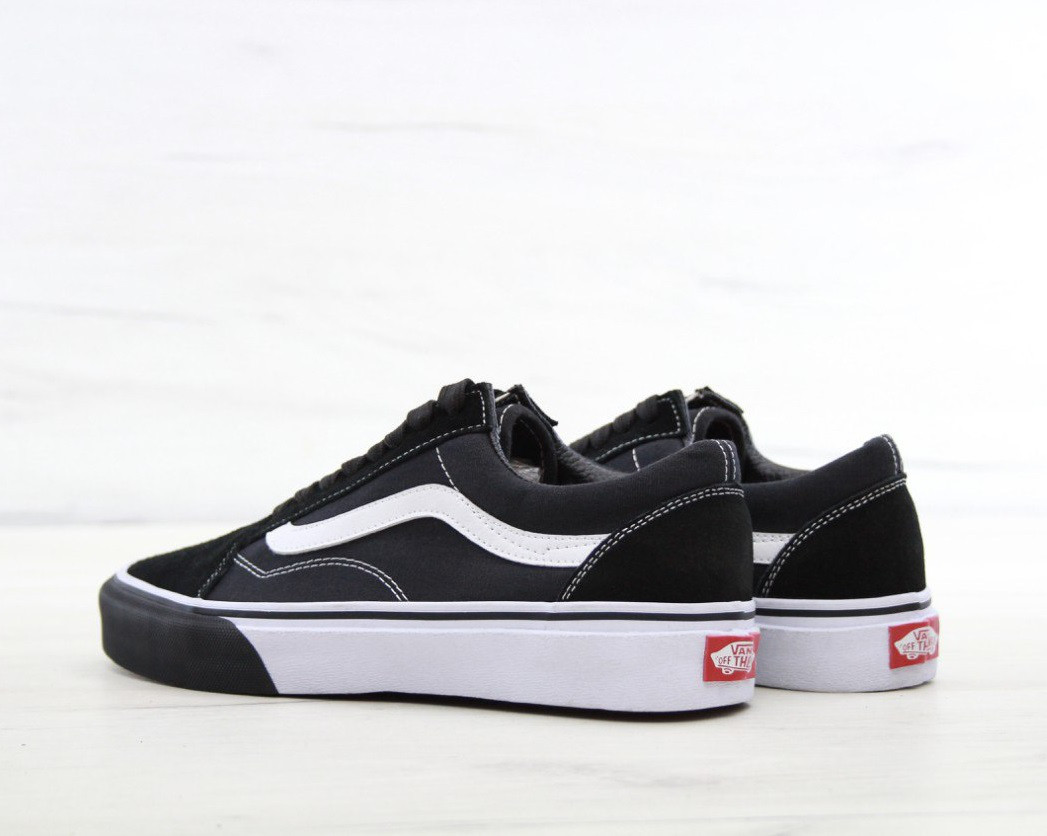 d8254dfd5892 Кеды в стиле Vans Old Skool Mono Bumber Black White унисекс - Bigl.ua