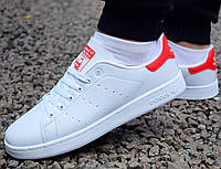 Кросівки Adidas Stan Smith white red 55ab46c94f17c