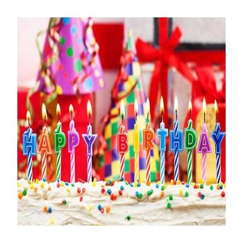 Каких только свечей для украшения праздничного торта сейчас нет! И цифры, и буквы, и фейерверки, и даже музыкальные.
