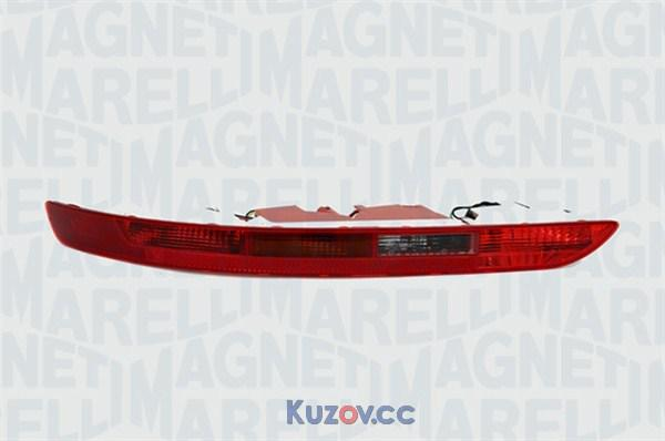 Задний фонарь Audi Q5 (08-12) в бампере левый (Magneti Marelli) 8R0945095