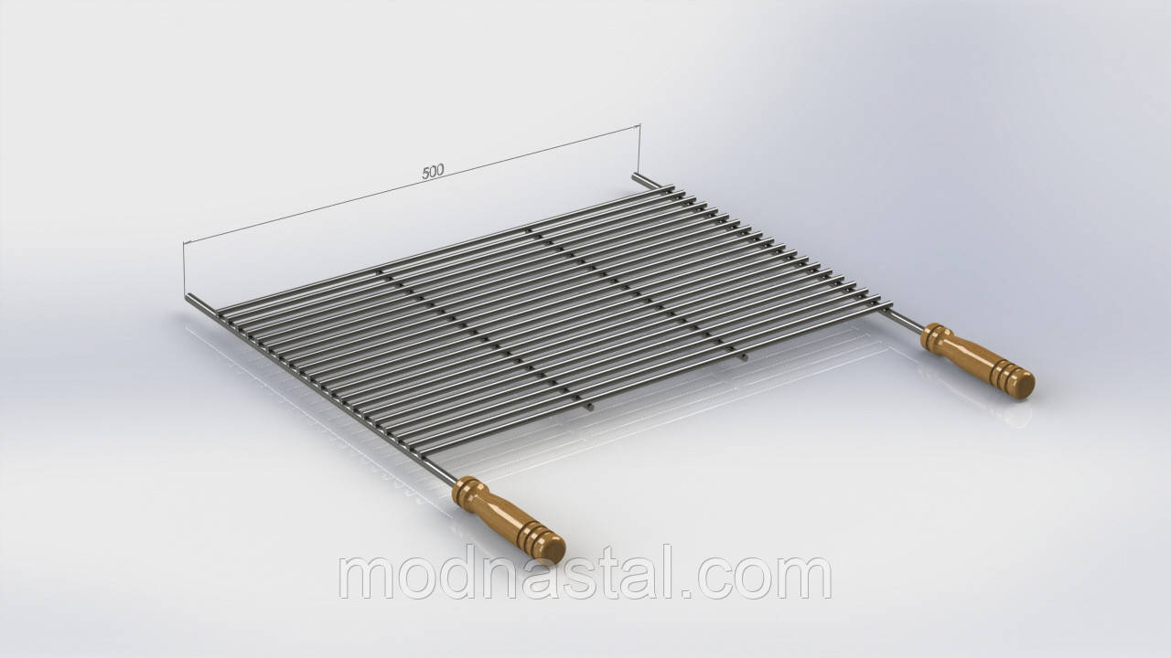 Решетка для мангала профи, 300х500 мм