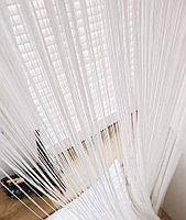 Подбираем однотонные шторы-нити