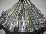 Молодежный прозрачный зонт - трость города на 8 спиц, фото 4