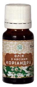 Косметическое масло Кориандра, 10 мл