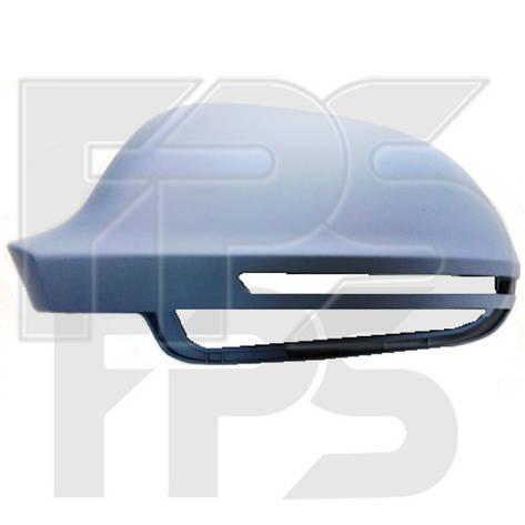 Крышка зеркала бокового Audi A3 (08-12) левая, грунт (FPS) , фото 2