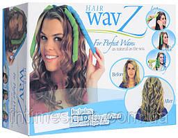 Бигуди спиральные Hair WavZ (Хейр Вейвз) 31-51 см.