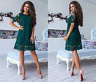 """Стильное платье мини """" Вышивка """" Dress Code , фото 1"""