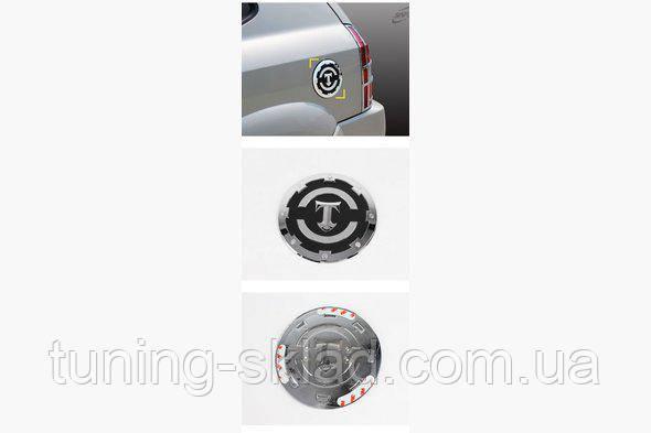 Хром накладка на бак (пласт) Hyundai Tucson JM 2004+    (Хюндай Тюксон)