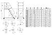 Сходи пересувна, висота робочої площадки 2000 мм, фото 2