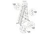 Сходи пересувна, висота робочої площадки 2000 мм, фото 4