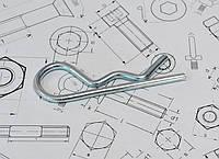 Шплинт игольчатый Ф8 DIN 11024, фото 1