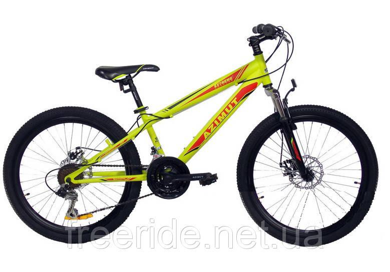 Подростковый Велосипед Azimut Extreme 24 D