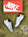 Женские кроссовки Nike Air Max 97 металлик, фото 3
