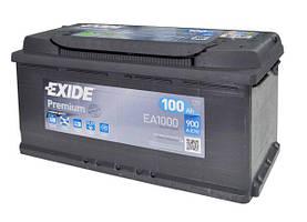 100 Exide Premium 6СТ-100 Евро (EA1000) | EA1000