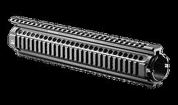 NFR-RL Тактическое длинное цевье для М4, 4 планки Пикатинни, алюминий, черное