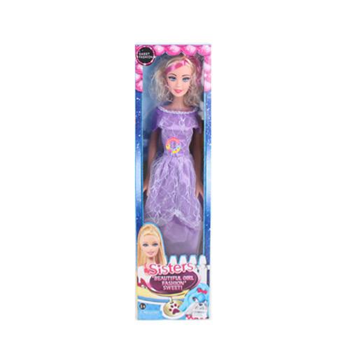 Кукла ростовая, 75см, музыкальная, 3 цвета, 9283A