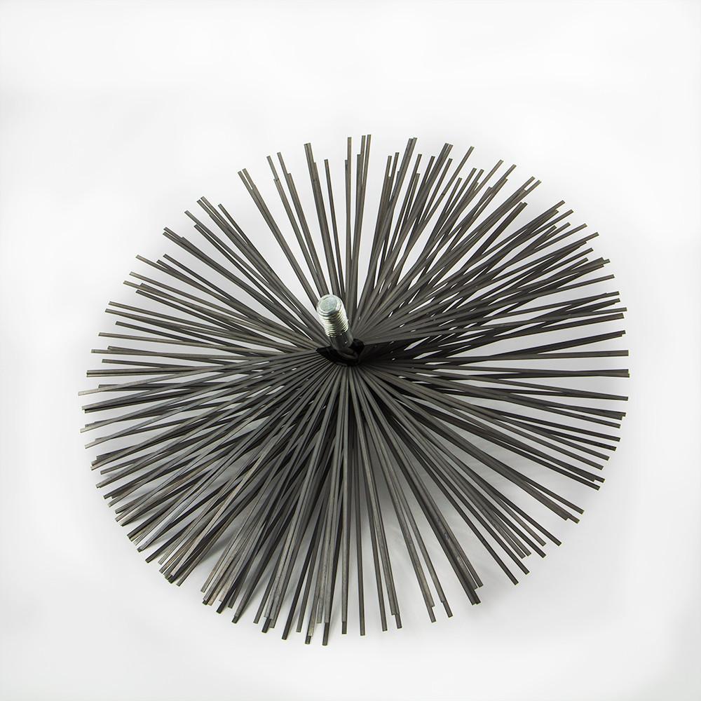 Ерш (щетка) для чистки дымохода Ø175, плоская проволока