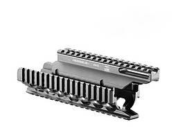 VFRVZ Система планок FAB для VZ. 58, 5 планок, алюминий, черная