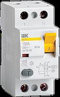 УЗО (устройство защитного отключения) ВД1-63 2Р 63А 30мА тип А IEK