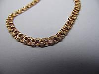 Золотой браслет, размер 17 см