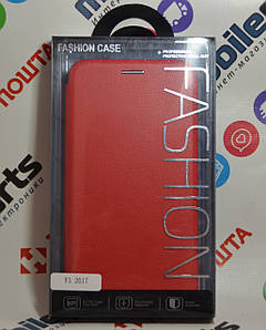 Чехол -Книжка Fashion Case для Huawei Y3 2017 (Красный)