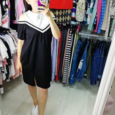 Платье чёрное 510-138-1, фото 3