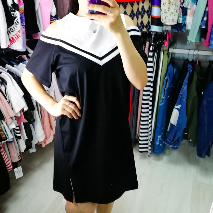 Платье чёрное 510-138-1
