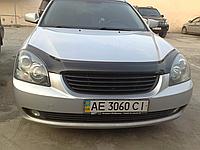Дефлектор капота (мухобойка) Kia Optima/Magentis II MG (киа оптима/маджентис 2005г-2010г)