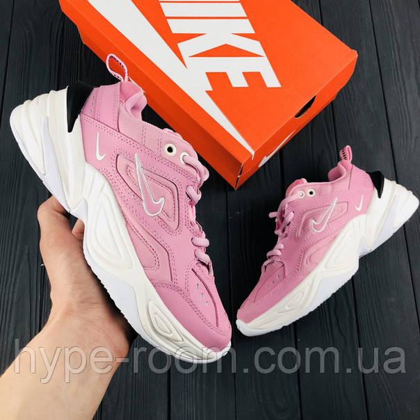 Женские Кроссовки Nike M2K Tekno Pink Foam Реплика -   The best Hype ... 50028e5553a89