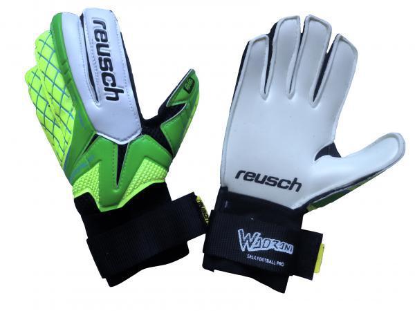 Перчатки Вратарские (зелено-салатовые) Reusch