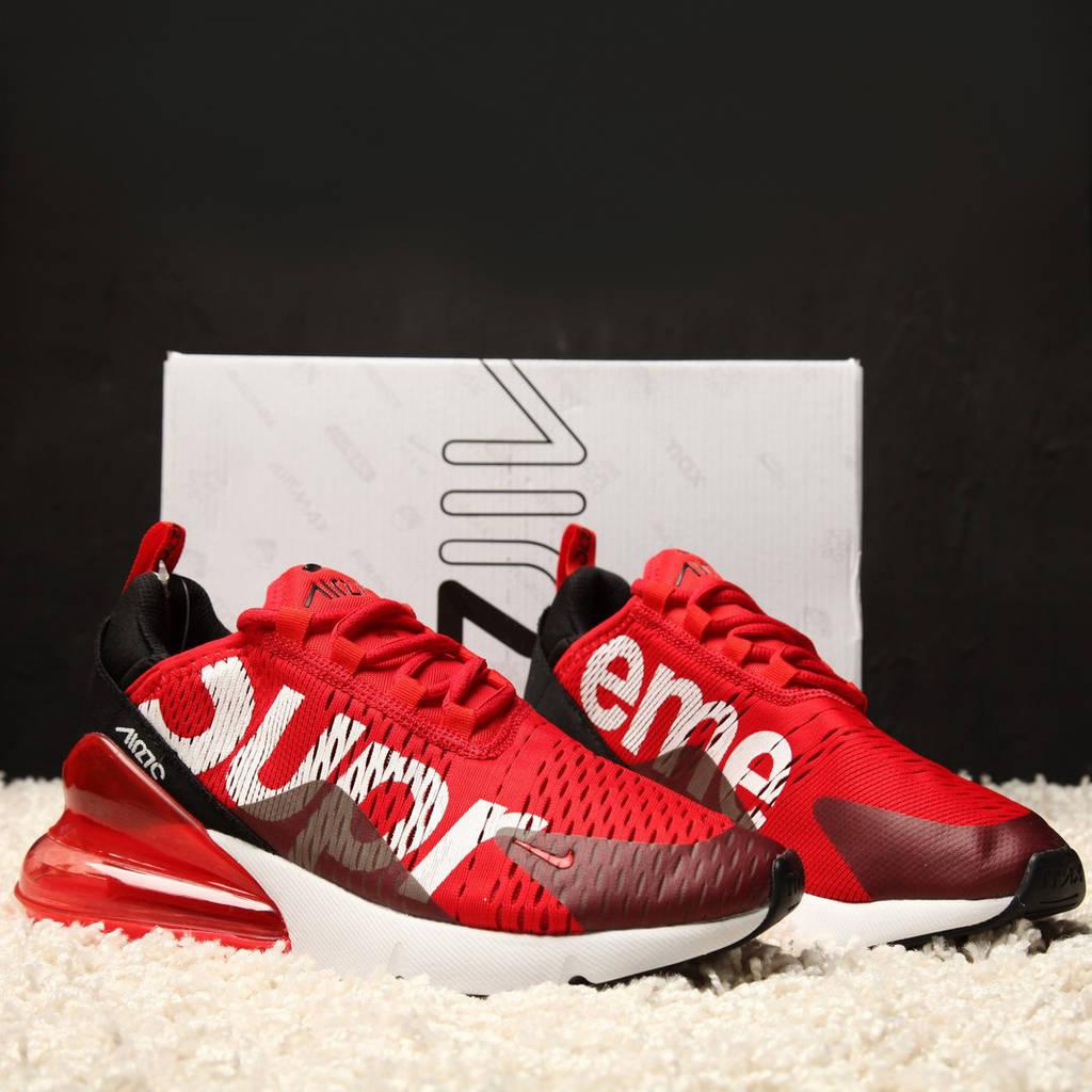 Nike Air Max 270 Supreme Red White Black (реплика)