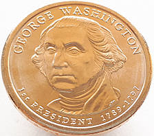 США 1 доллар 2007 -Джордж Вашингтон 1 Президент