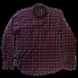 Рубашка мужская в клетку супер батал-Gelix, фото 2