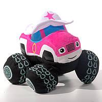 Мягкая игрушка машинка Старла, Вспыш и чудо-машинки