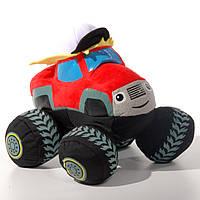Детская мягкая игрушка машинка Смельчак, Вспыш и чудо-машинки