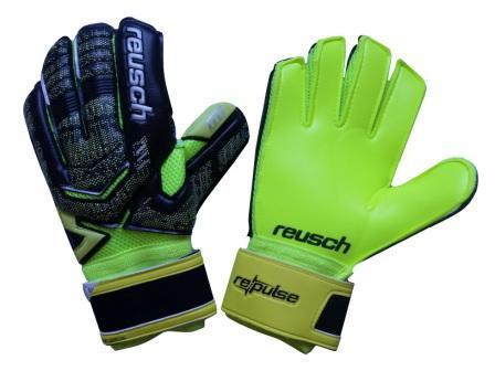 Перчатки Вратарские (салатово-черные) Reusch M1