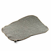 Коврик для сауны (серый) с вышивкой, Saunapro