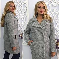 Пальто зимнее серого цвета  от YuLiYa Chumachenko, фото 1