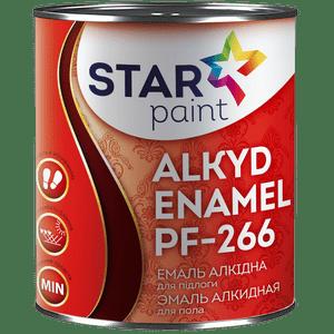 Емаль ПФ-266 STAR PAINT (Червоно-коричневий) 0,9 кг