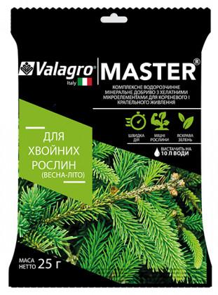 Valagro Мастер для хвойных деревьев весна-лето 25г