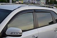 Дефлекторы окон (ветровики) Kia Sorento II XM (киа cоренто 2009-2014)
