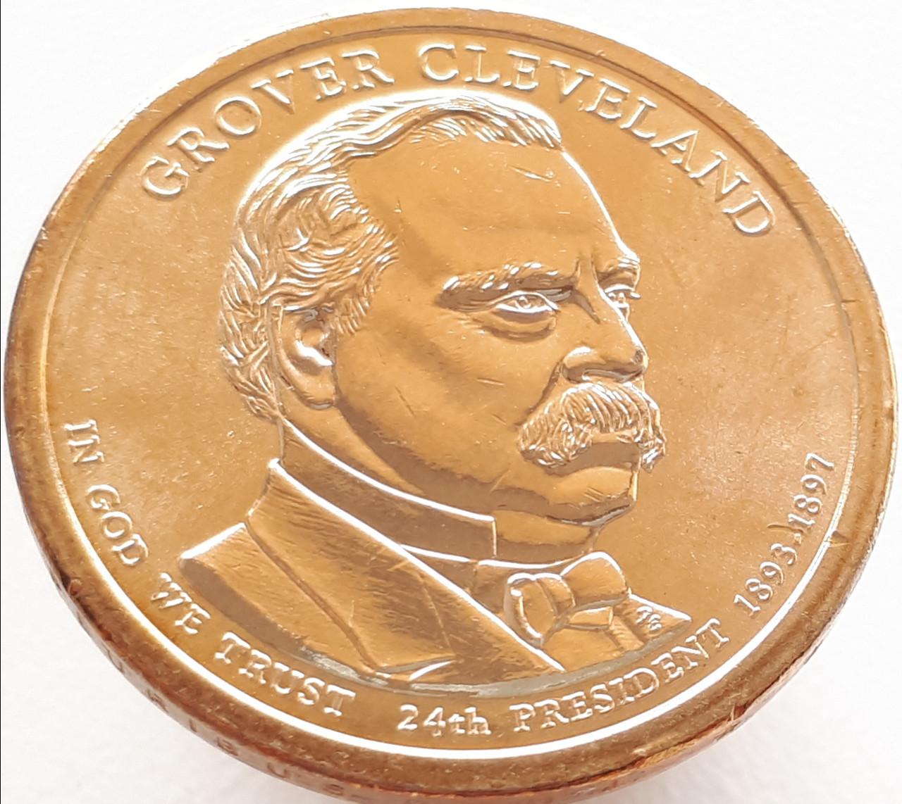 США 1 долар 2012 - Гровер Клівленд 24 Президент