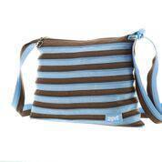 Сумка Zipit Medium цвет Ocean Blue&Soft Brown (голубой)